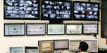 Centro de control Telecontrol Convi