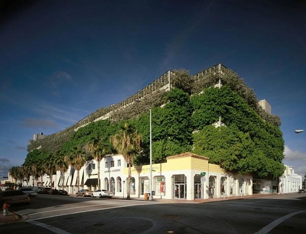 Ballet Valet Parking Garage and Retail Shops, Miami Beach, Flori