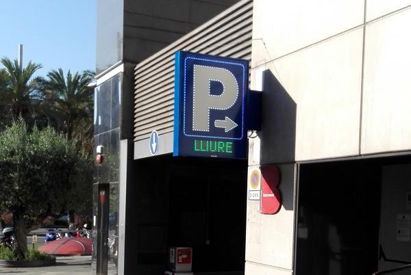 P de Parking nueva
