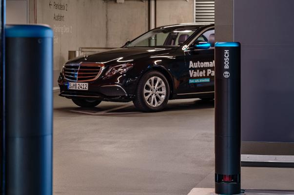 Parking automatizado de Bosch
